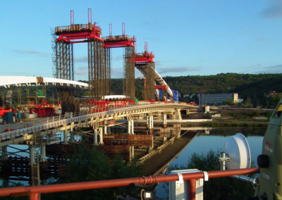 "Construction of ""Troja"" Bridge"